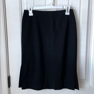 J. Crew Wool Pencil Skirt - Black Size 4